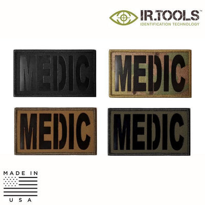 IR Tools Hybrid IR Patches IR.Tools™ Infrared IR MEDIC Covert Field Patch - Hybrid / Fabric