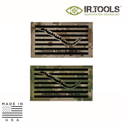 IR Tools Hybrid IR Patches IR.Tools™ Infrared IR Navy Jack NWU Covert Field Patch - Hybrid / Fabric