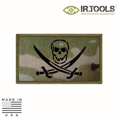 IR Tools Hybrid IR Patches MULTICAM IR.Tools™ Infrared IR Calico Jack Covert Field Patch - Hybrid / Fabric