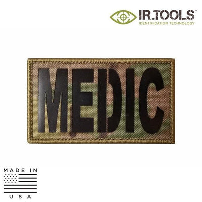 IR Tools Hybrid IR Patches MULTICAM IR.Tools™ Infrared IR MEDIC Covert Field Patch - Hybrid / Fabric