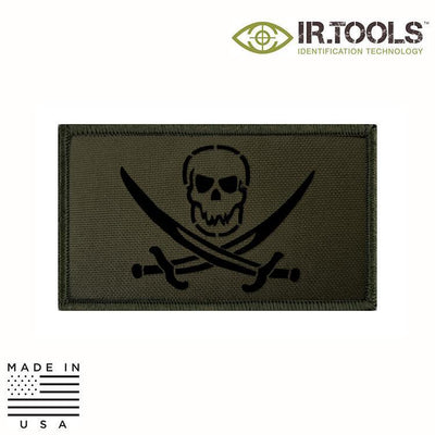 IR Tools Hybrid IR Patches OD GREEN IR.Tools™ Infrared IR Calico Jack Covert Field Patch - Hybrid / Fabric