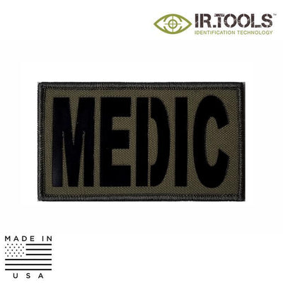 IR Tools Hybrid IR Patches OD GREEN IR.Tools™ Infrared IR MEDIC Covert Field Patch - Hybrid / Fabric