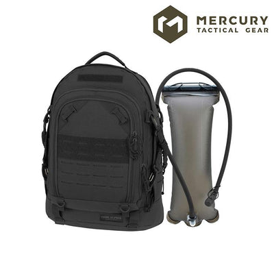 Mercury Tactical Gear 3968 Pathfinder Assault Hydration Pack Hydration Packs BLACK