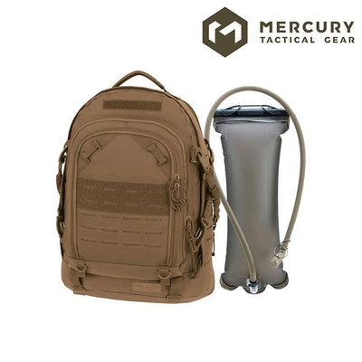 Mercury Tactical Gear 3968 Pathfinder Assault Hydration Pack Hydration Packs COYOTE