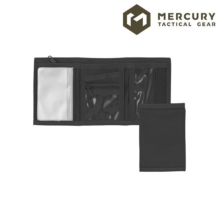 Mercury Tactical Gear E1109 Tri-Fold Wallet Badge / ID Holders ABU