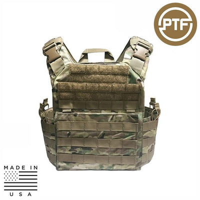 Protect The Force Plate Carriers MULTICAM PTF Force Defender Series Rifle Plate Carrier - Elite Pro