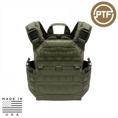 Protect The Force Plate Carriers RANGER GREEN PTF Force Defender Series Rifle Plate Carrier - Elite Pro