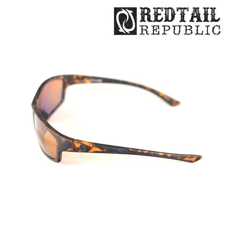 Redtail Republic Sunglasses TORTOISE / AMBER Redtail Optix SAB-10-AGNP Sabine UV Polarized Sunglasses