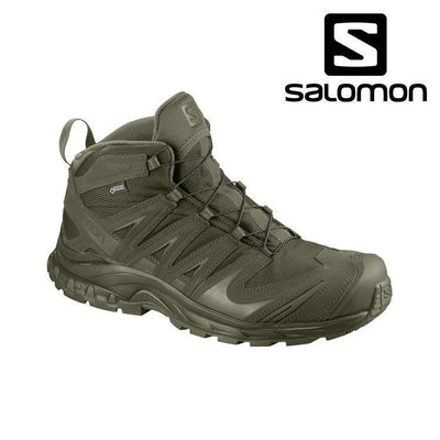 Salomon Forces XA Mid GTX® Tactical Boot Tactical Boots RANGER GREEN / 5