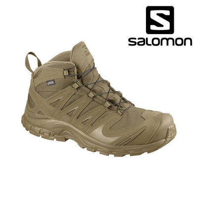 Salomon L40138200 Forces XA Mid GTX® Tactical Boot Tactical Boots COYOTE / 5