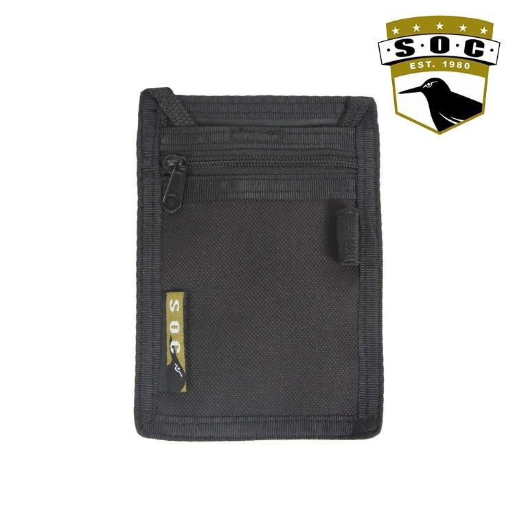 Sandpiper of California Badge / ID Holders BLACK Sandpiper of California 881-O Neck ID Wallet