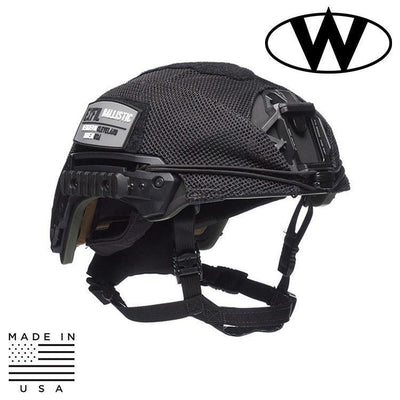 Team Wendy Helmet Covers BLACK / SIZE 1 - MD/LG Team Wendy EXFIL® Ballistic Mesh Helmet Cover