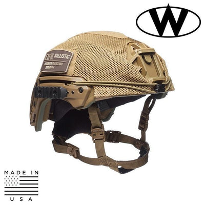 Team Wendy Helmet Covers COYOTE BROWN / SIZE 1 - MD/LG Team Wendy EXFIL® Ballistic Mesh Helmet Cover