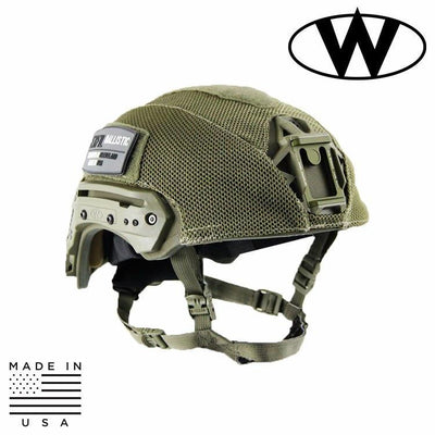 Team Wendy Helmet Covers RANGER GREEN / SIZE 1 - MD/LG Team Wendy EXFIL® Ballistic Mesh Helmet Cover