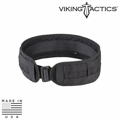 Viking Tactics VTAC-SBU Skirmish Belt Battle Belts BLACK / MEDIUM