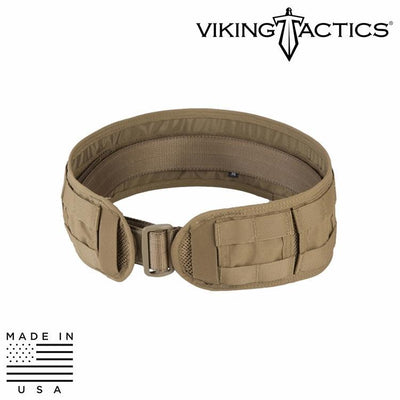 Viking Tactics VTAC-SBU Skirmish Belt Battle Belts COYOTE / MEDIUM