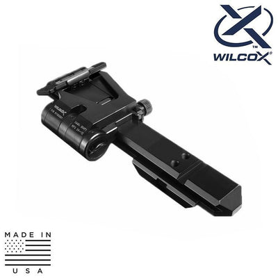 Wilcox Industries Bipods / Grips / Mounts Wilcox 61100G02 EO Tech XPS Riser Flip Mount Low Profile System - Right Hand