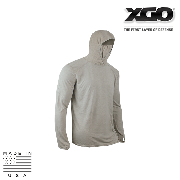 XGO Base Layers DESERT SAND / SMALL XGO 1F11HQCB Phase 1 FR Lightweight Performance Combat Hoodie