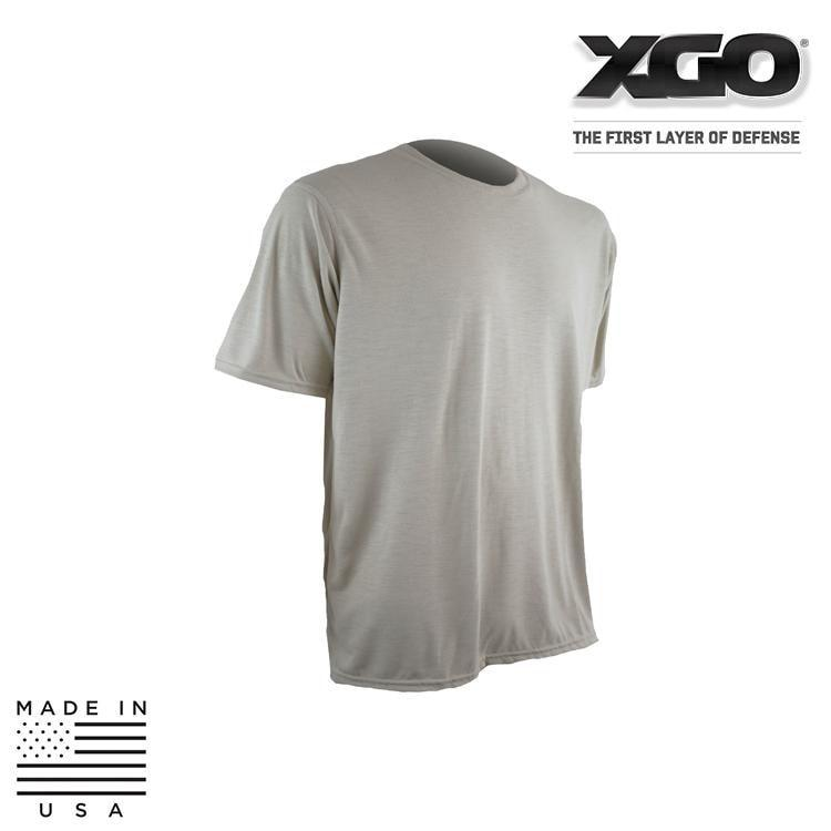 XGO Base Layers BLACK / SMALL XGO 1G58M Phase 1 Lightweight Relaxed Fit Short Sleeve True T-Shirt