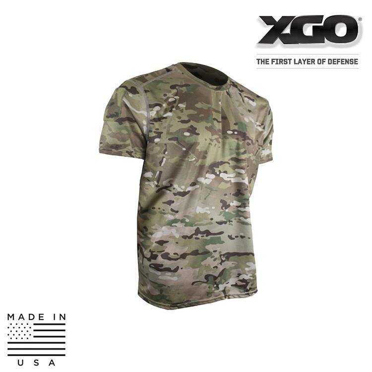 XGO Base Layers MULTICAM / SMALL XGO 1G16MP Phase 1 Lightweight Performance Multicam® Short Sleeve T-Shirt