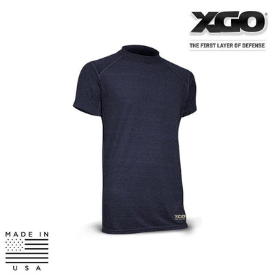 XGO Base Layers NAVY / SMALL XGO 1F16M Phase 1 FR Lightweight Relaxed Fit Short Sleeve T-Shirt