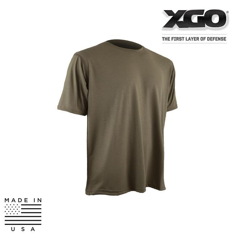 XGO Base Layers DESERT SAND / SMALL XGO 1F58M Phase 1 FR Lightweight Relaxed Fit Short Sleeve True T-Shirt