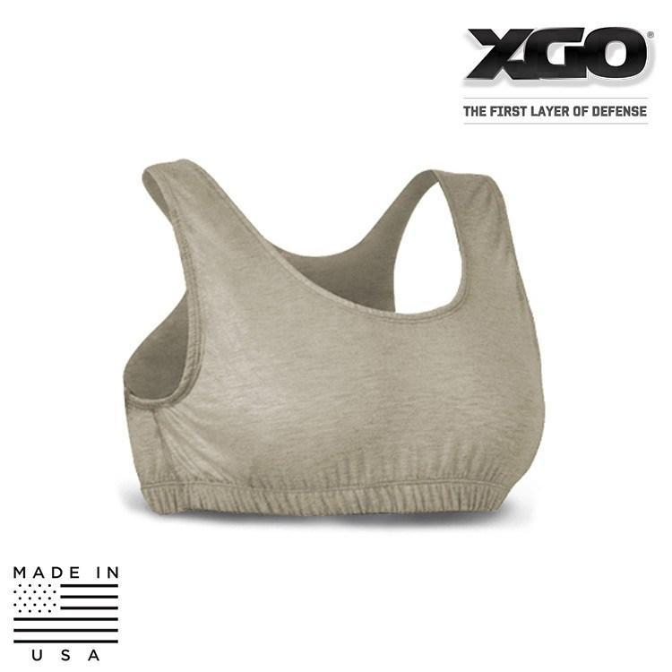 XGO FR Base Layer Accessories DESERT SAND / X-SMALL XGO 1FG31B Phase 1.5.0 FR Performance Tactical Womens Bra