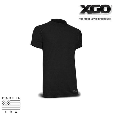 XGO FR Base Layer Shirts BLACK / SMALL XGO 1F16M Phase 1 FR Performance Tactical Relaxed T-Shirt