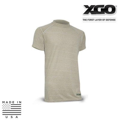 XGO FR Base Layer Shirts DESERT SAND / SMALL XGO 1F16M Phase 1 FR Performance Tactical Relaxed T-Shirt