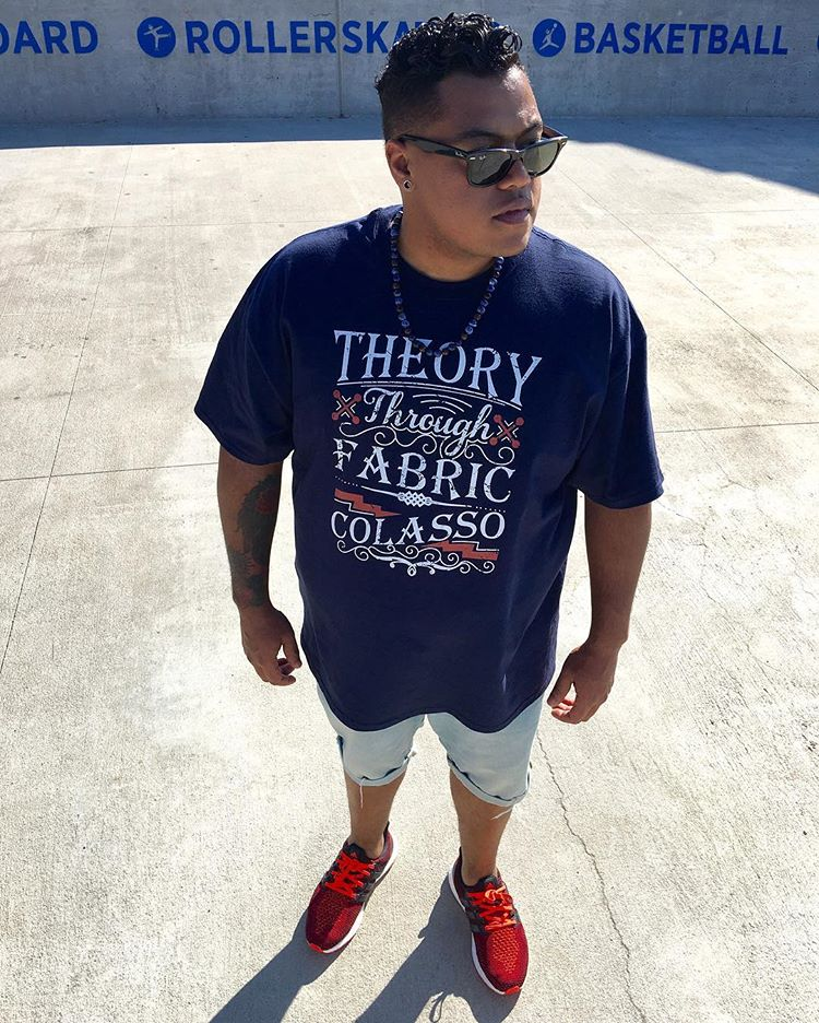 THEORY THROUGH FABRIC S-5x