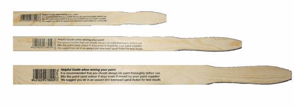 wooden paint paddle for stirring paint - Da Vinci Chalk Paint Creative painting