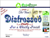 "Da Vinci ""Distressed"" Chalky Finish 4Ltr Trade pack - Da Vinci Chalk Paint Creative painting"