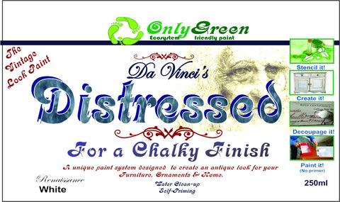 "Da Vinci ""Distressed"" Chalky Finsh 250ml the paint with added chalk - Da Vinci Chalk Paint Creative painting"
