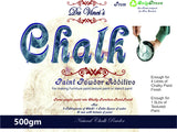 Chalk Powder to make chalk & Textured paint finish 500gms and raised stencils - Da Vinci Chalk Paint Creative painting