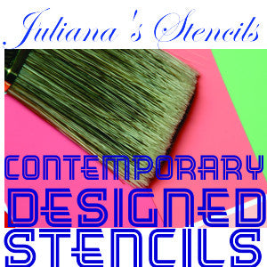 Contemporary & designers paint stencils - Da Vinci Chalk Paint Creative painting
