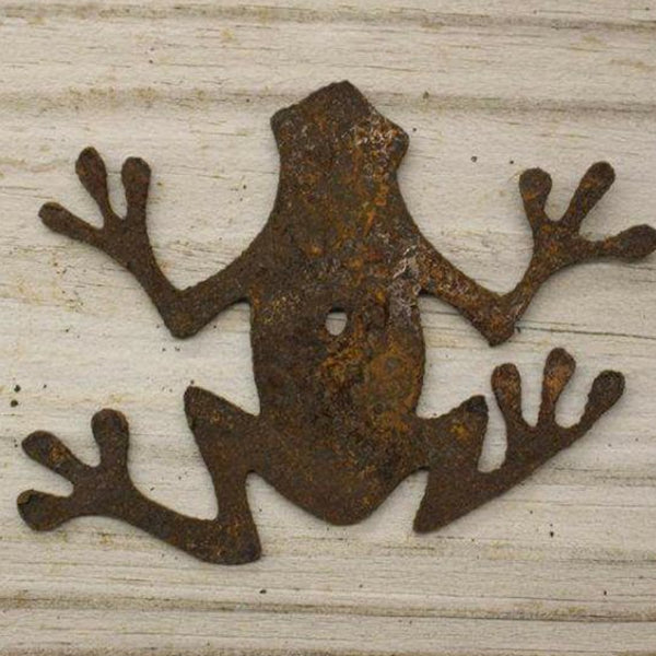 Rusted Frog- made from rusty steel - Da Vinci Chalk Paint Creative painting