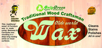 Olde World traditional craftsman wood and Furniture wax - Da Vinci Chalk Paint & Rustic home decor