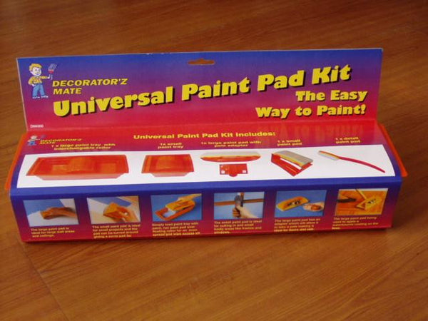 Paint Pad Kit 5 pce  with tray - Da Vinci Chalk Paint Creative painting