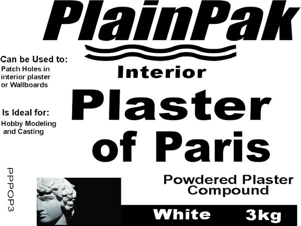 Plaster of Paris - Da Vinci Chalk Paint Creative painting