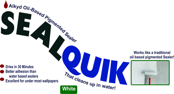 SealQuik eco oil based Pigmented Sealer White - Da Vinci Chalk Paint & Rustic home decor
