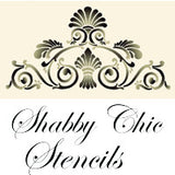 Stencils Shabby Chic - Da Vinci Chalk Paint & Rustic home decor