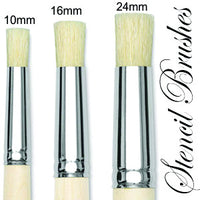 Stencil Brushes wooden handle - Da Vinci Chalk Paint & Rustic home decor