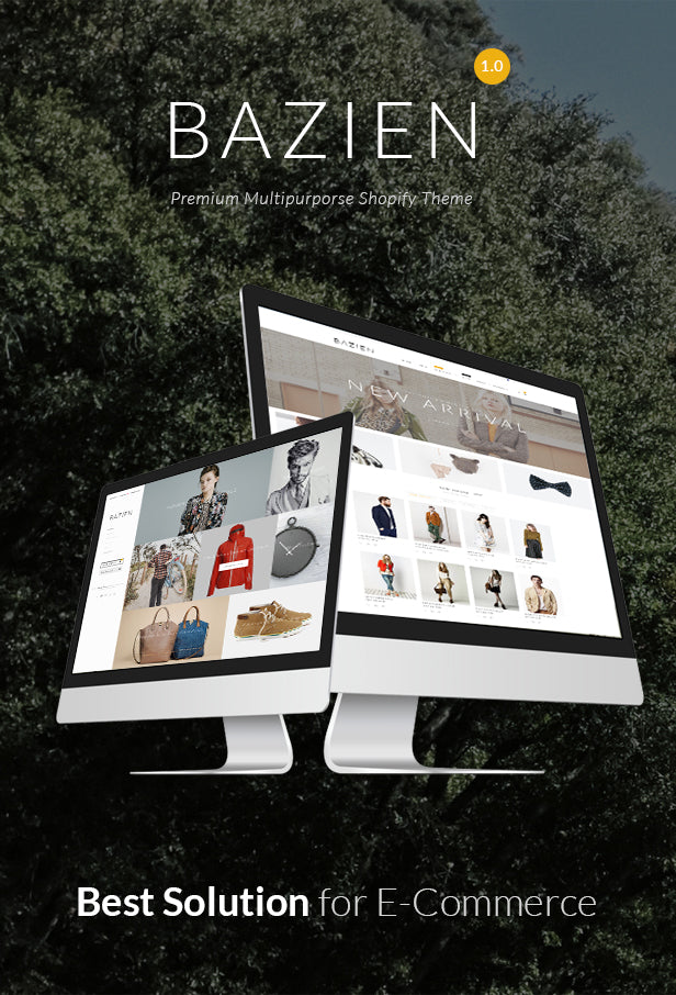 Bazien - Shopify Theme