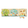 Djeco Layer Wooden Puzzle Woodland Layers