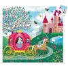Djeco 54 Piece Puzzle Shaped Box Elise's Carriage Completed