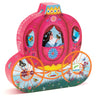 Djeco 54 Piece Puzzle Shaped Box Elise's Carriage