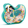 Djeco 54 Piece Puzzle Shaped Box Lady & The Swan