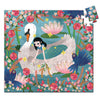 Djeco 54 Piece Puzzle Shaped Box Lady & The Swan Complete