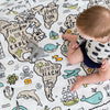 Babee & Me Organic Muslin Wrap World Explorer