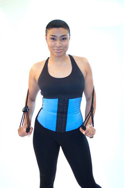 Work Out Waisted Corset (Blue or Lilac)